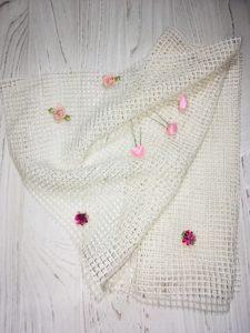 Сетка для плетения мехом, сетка для меха, сетка для мехового трикотажа, сетка для вышивки